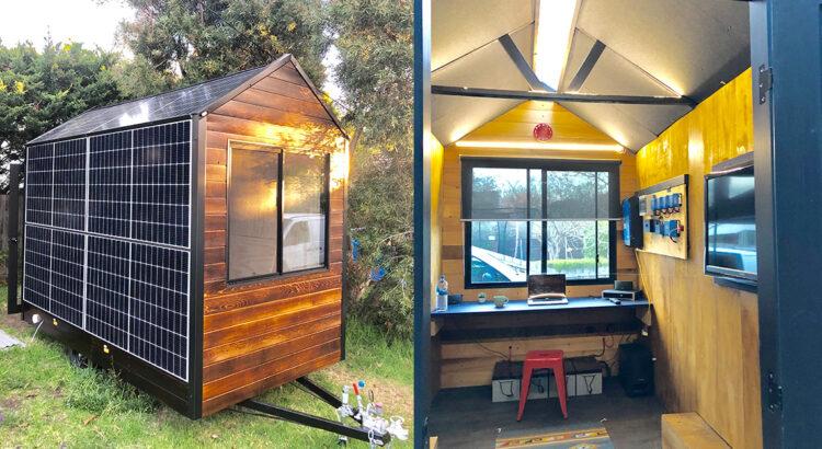 Tiny House: Solar Ark - exterior and interior