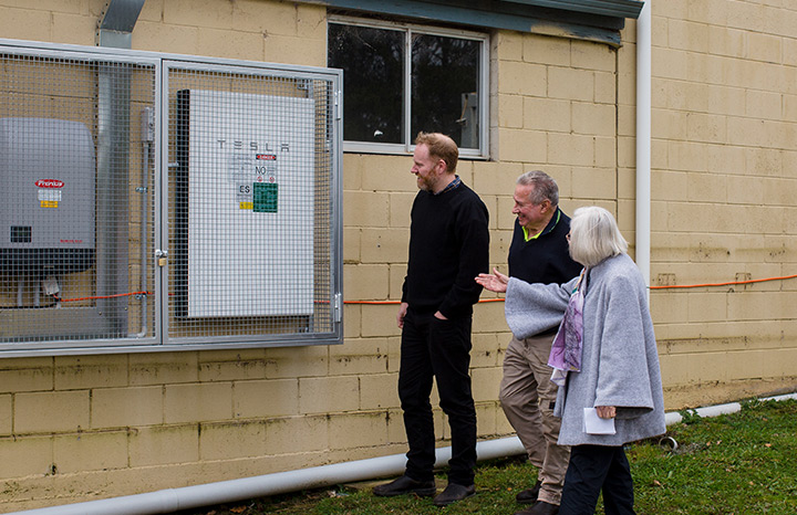 Hepburn Springs Recreation Reserve Solar & Tesla Battery install