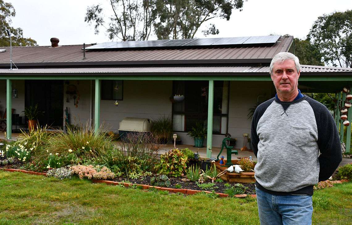 Solar Install for Chris in Daisy Hill