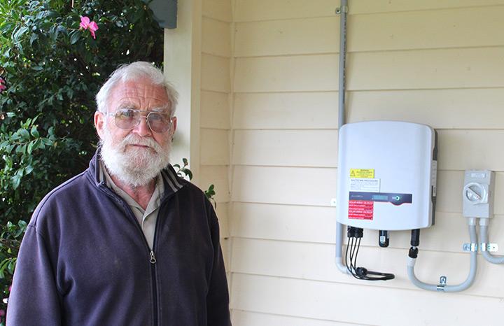 Denis T solar installation, Beaufort