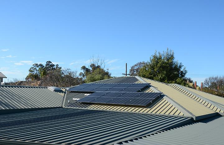 Solar Install for Patricia F. in Donald