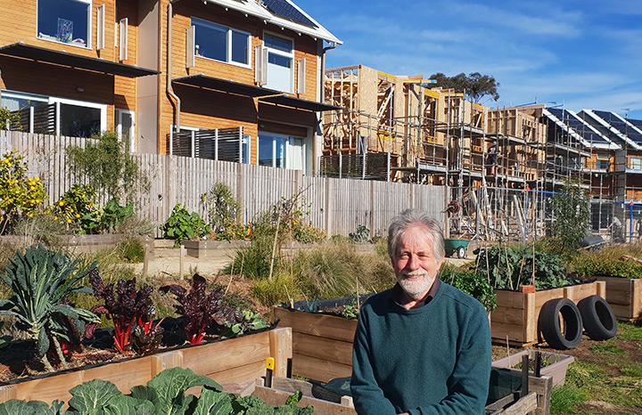Neil Barrett OAM, co-founder of the Paddock