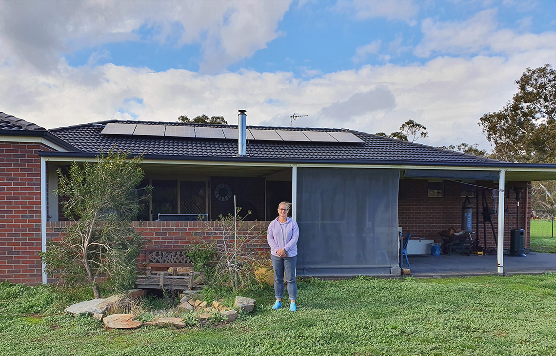 Solar Install for Stephanie in Avoca