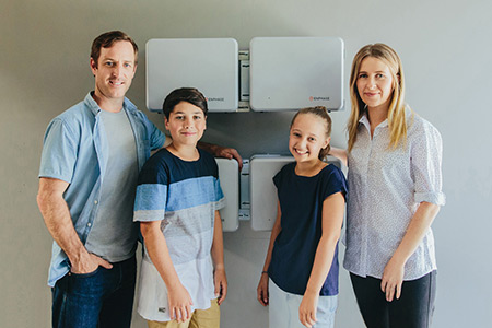Enphase battery family