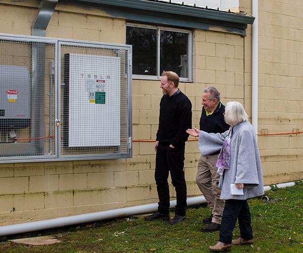 Solar Battery Install