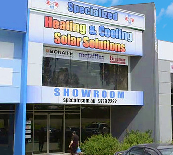 Specialized Solar Showroom