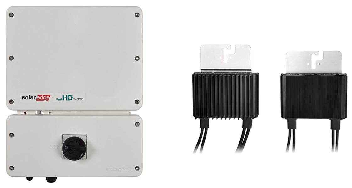 SolarEdge Inverter and Power Optimiser