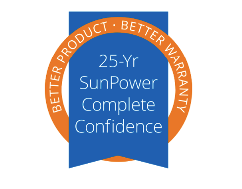 25 Year SunPower Warranty